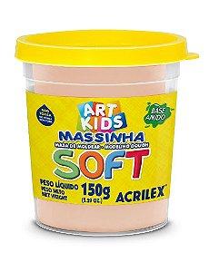 MASSA P/MODELAR SOFT COPO 150GR 538 AMARELO PELE