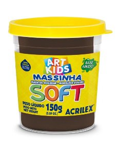 MASSA P/MODELAR SOFT COPO 150GR 814 CHOCOLATE