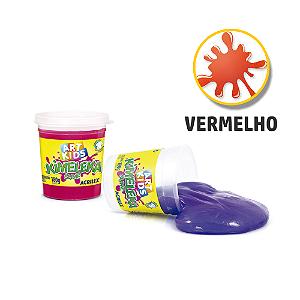 BRINQUEDO KIMELEKA SLIME 180G R.0555 VERMELHO
