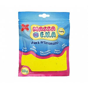 MASSA EVA P/ARTESANATO 50GRS AMARELO R.13000 || UNIDADE