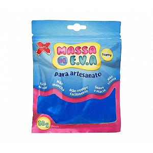 MASSA EVA P/ARTESANATO 50GRS AZUL ESCURO R.13002 || UNIDADE