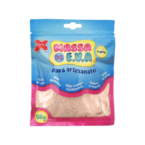 MASSA EVA P/ARTESANATO 50GRS PELE R.13006 || UNIDADE