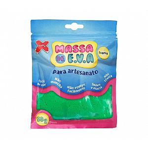 MASSA EVA P/ARTESANATO 50GRS VERDE ESCURO R.13013 || UNIDADE