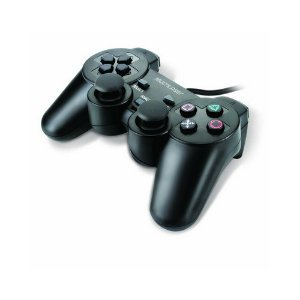 JOYSTICK JOYPAD DUAL SHOCK PS2 2 PRETO JS043