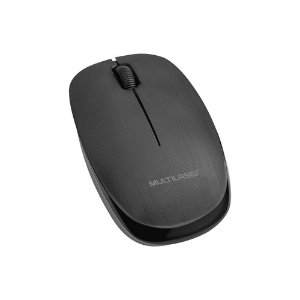 MOUSE OPTICO S/FIO USB 2,4GHZ 1200DPI PRETO R.MO251