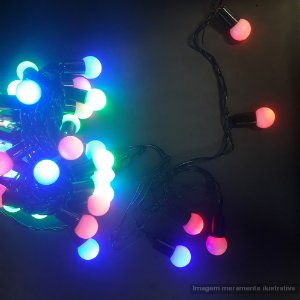 PISCA-PISCA LED 40 LAMP FOSCA 6368-12 COLORIDO