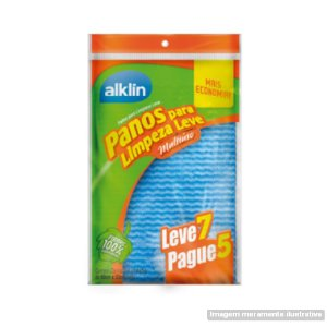 PANO MULTIUSO LIMP. LEVE AZUL 33X50 PG5 LV7 ALK-8160