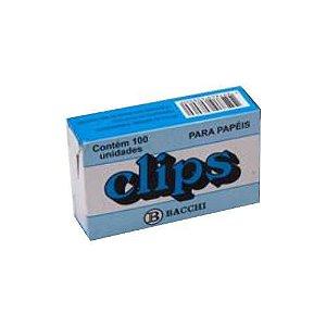 CLIPS GALVANIZADO 00 - 2/0 C/100 UNIDADES || ATACADO - PCT C/25 CAIXAS