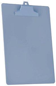 Prancheta A4 pop prend plastico azul sólido 129.1 Acrimet