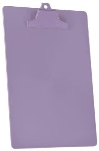 Prancheta A4 pop prend plastico lilás sólido 129.5 Acrimet