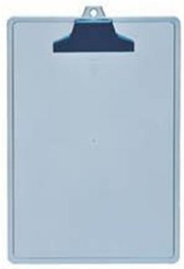 Prancheta A4 c/Prend. Plastico Azul Clear 131.2 Acrimet