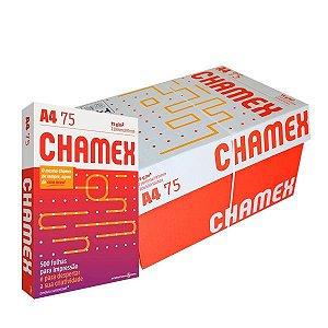 Papel sulfite A4 75grs branco cx10pt 500fls Chamex