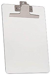 Prancheta meio oficio premium prend.metalico cristal 920.3 Acrimet