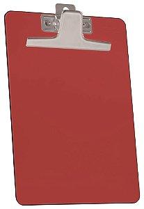 Prancheta oficio premium vermelha c/prend.metalico 930.7 Acrimet