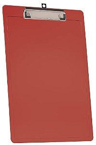 Prancheta A4 C/Prend. Wire Vermelho Clear 138.6 Acrimet