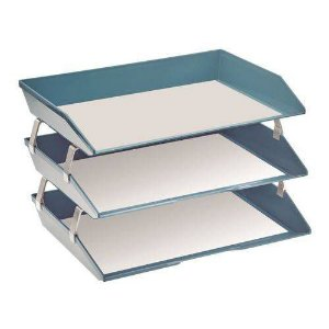 Caixa correspondencia facility lateral tripla azul solido 255.AO Acrimet