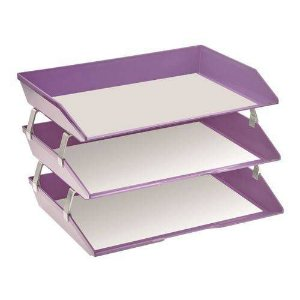 Caixa correspondencia facility lateral tripla lilas solido 255.LO Acrimet