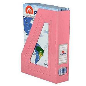 Porta revista rosa solido 276.RO Acrimet