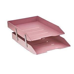 Caixa correspondencia dupla articulada rosa solido 243.RO Acrimet