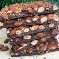 Barra de chocolate com Amêndoas 500g