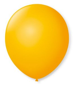 Balão Nº7 Amarelo Sol 50 un -  São Roque