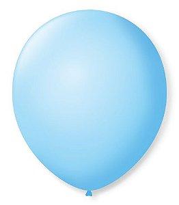 Balão Nº7 Azul Baby 50 un -  São Roque