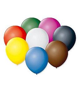 Balão Nº7 Sortido 50 un - São Roque