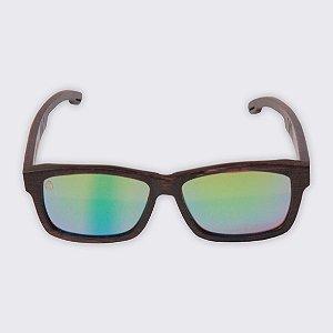 Óculos de Sol - Madeira - Paúba