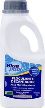 FLOCULANTE DECANTADOR BLUEPOOL - 1 Litro