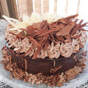 Torta Dueto – Chocolate Meio Amargo e Branco