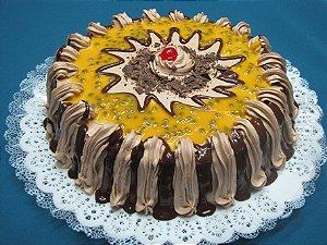 Torta Suprema – Mousse de Maracujá com Chocolate