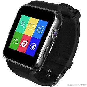 Smartwatch X6 Bluetooth com Camera e micro SD