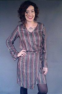 Vestido Amarra - B - DEN HAAG