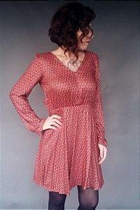 Vestido Decote Costas - Nimega . B
