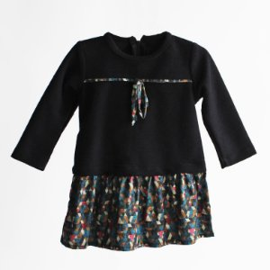 Vestido com malha – CÓRDOBA preto