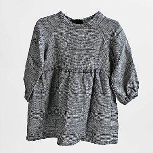 Vestido franzido – TRINIDAD gazz