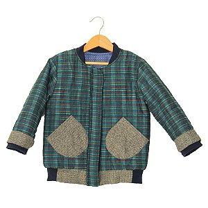 Jaqueta tecido - Bodo.C - Colorido e PB