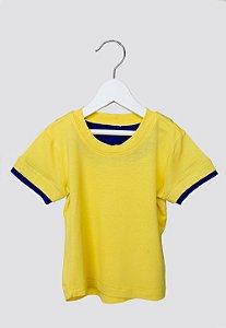 Camiseta - Laia . D - amarelo