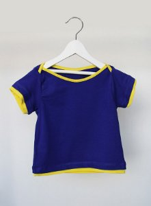 Camiseta - kakadu . B - azul