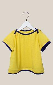 Camiseta - kakadu . C - amarelo