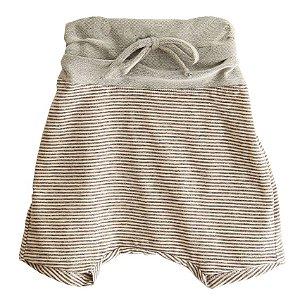 Shorts saruel - Gizé . A - Cinza
