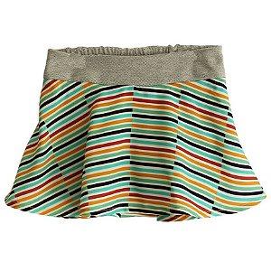 Shorts Saia - Quéfren. A - Listrado