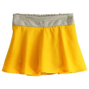 Shorts Saia - Quéfren. B - Amarelo
