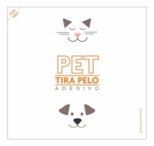 Adesivo Tira Pelo Pet - 10 Unid. Gato Cão Roupa Móveis Sofá.