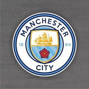 Quadro Decorativo de Times Futebol - Manchester City - Mdf 3mm