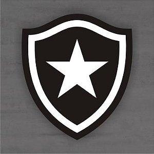 Quadro Decorativo de Times Futebol - Botafogo - Mdf 3mm