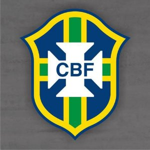 Quadro Decorativo de Times Futebol - CBF - Seleção Brasileira - Mdf 3mm