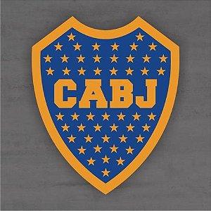 Quadro Decorativo de Times Futebol - Boca Juniors - Mdf 3mm