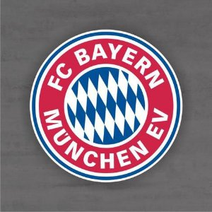 Quadro Decorativo de Times de Futebol - Bayern Munchen - Mdf 3mm