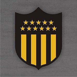 Quadro Decorativo de Times Futebol - Peñarol - Mdf 3mm